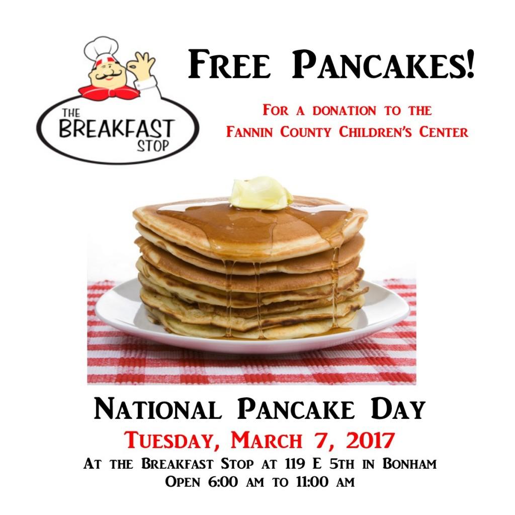 Breakfast Stop Pancakes