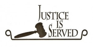 Justice is Served logo