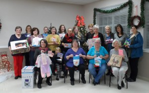 United Methodist Women  of Leonard generously gave presents again this year.