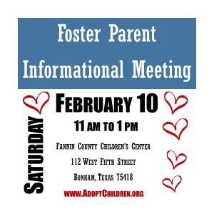 Foster Home Info Meeting