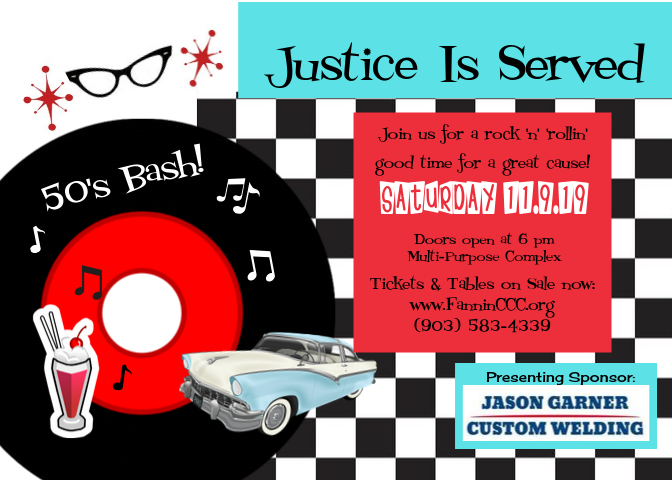 _Justice Is Served 2019 invite front