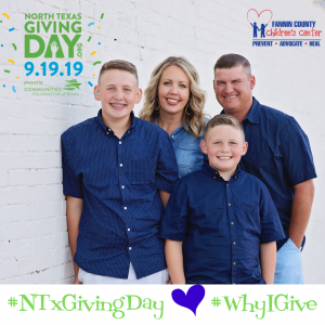 NTXGiveDay - Why I Give Garner